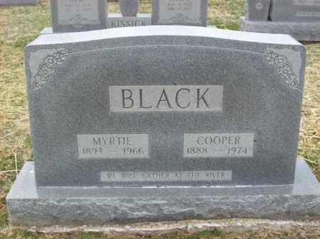 BLACK, COOPER - Rowan County, Kentucky | COOPER BLACK - Kentucky Gravestone Photos