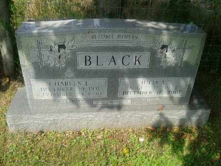 BLACK, CHARLES L - Rowan County, Kentucky   CHARLES L BLACK - Kentucky Gravestone Photos