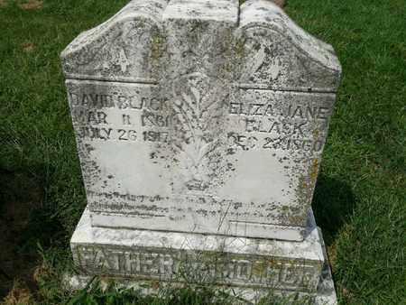 BLACK, DAVID - Rowan County, Kentucky | DAVID BLACK - Kentucky Gravestone Photos
