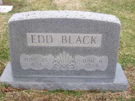 BLACK, EDD - Rowan County, Kentucky | EDD BLACK - Kentucky Gravestone Photos