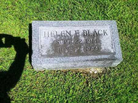 BLACK, HELEN E - Rowan County, Kentucky | HELEN E BLACK - Kentucky Gravestone Photos