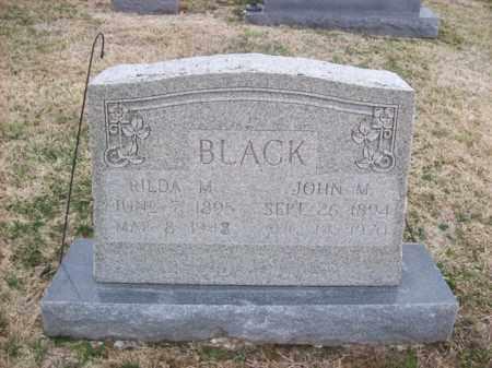 BLACK, JOHN M - Rowan County, Kentucky | JOHN M BLACK - Kentucky Gravestone Photos