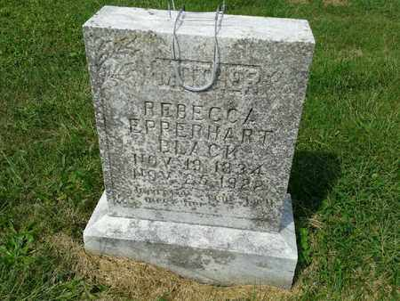 BLACK, REBECCA - Rowan County, Kentucky | REBECCA BLACK - Kentucky Gravestone Photos