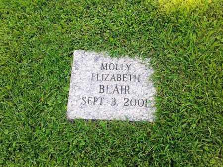 BLAIR, MOLLY ELIZABETH - Rowan County, Kentucky   MOLLY ELIZABETH BLAIR - Kentucky Gravestone Photos