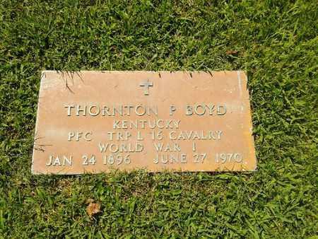 BOYD (VETERAN WWI), THORNTON P - Rowan County, Kentucky | THORNTON P BOYD (VETERAN WWI) - Kentucky Gravestone Photos