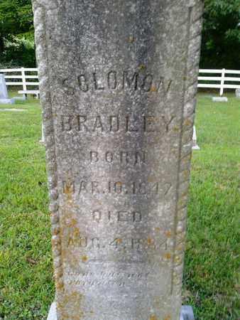 BRADLEY, SOLOMON - Rowan County, Kentucky | SOLOMON BRADLEY - Kentucky Gravestone Photos