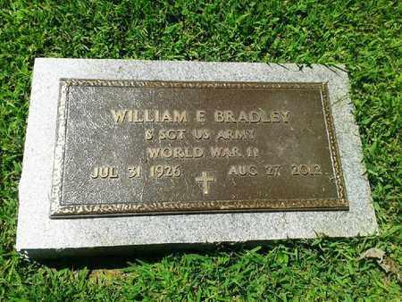 BRADLEY (VETERAN WWII), WILLIAM E. - Rowan County, Kentucky | WILLIAM E. BRADLEY (VETERAN WWII) - Kentucky Gravestone Photos