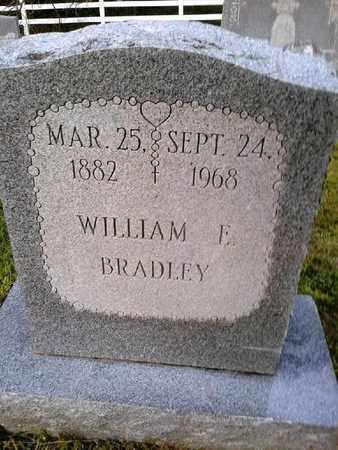BRADLEY, WILLIAM F - Rowan County, Kentucky | WILLIAM F BRADLEY - Kentucky Gravestone Photos