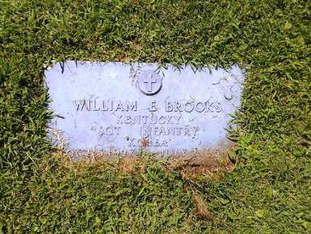 BROOKS (VETERAN KOR), WILLIAM E - Rowan County, Kentucky | WILLIAM E BROOKS (VETERAN KOR) - Kentucky Gravestone Photos