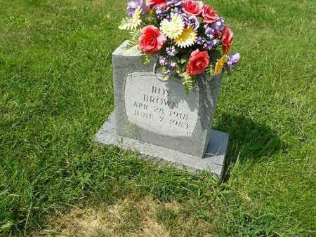BROWN, ROY - Rowan County, Kentucky   ROY BROWN - Kentucky Gravestone Photos