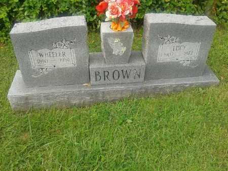 BROWN, WHEELER - Rowan County, Kentucky | WHEELER BROWN - Kentucky Gravestone Photos