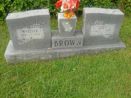 BROWN, LUCY - Rowan County, Kentucky | LUCY BROWN - Kentucky Gravestone Photos