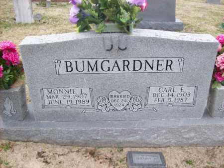 BUMGARDNER, CARL E - Rowan County, Kentucky | CARL E BUMGARDNER - Kentucky Gravestone Photos