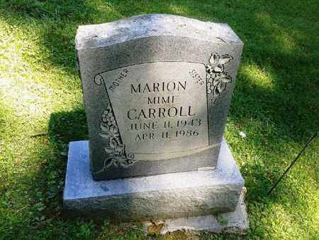 "CARROLL, MARION ""MIMI"" - Rowan County, Kentucky 