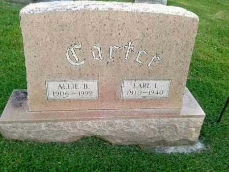 CARTER, EARL L - Rowan County, Kentucky | EARL L CARTER - Kentucky Gravestone Photos