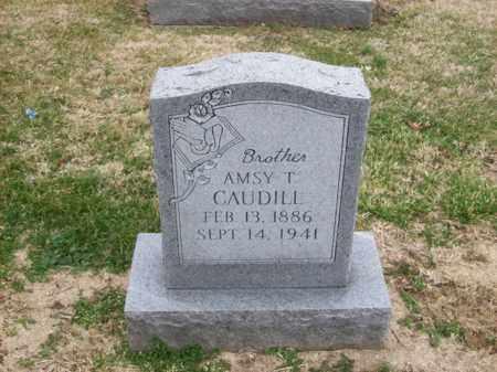 CAUDILL, AMSY T - Rowan County, Kentucky | AMSY T CAUDILL - Kentucky Gravestone Photos
