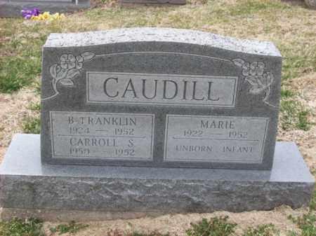 CAUDILL, B FRANKLIN - Rowan County, Kentucky | B FRANKLIN CAUDILL - Kentucky Gravestone Photos