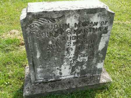 CAUDILL, JOHN M - Rowan County, Kentucky   JOHN M CAUDILL - Kentucky Gravestone Photos