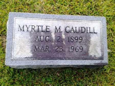 CAUDILL, MYRTLE M - Rowan County, Kentucky | MYRTLE M CAUDILL - Kentucky Gravestone Photos