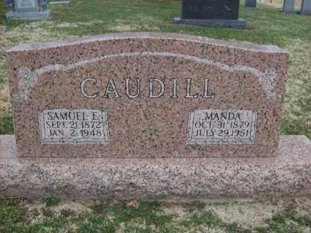 CAUDILL, MANDA - Rowan County, Kentucky   MANDA CAUDILL - Kentucky Gravestone Photos