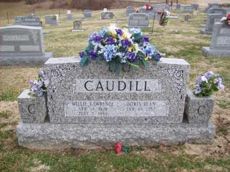 CAUDILL, WILLIE LAWRENCE - Rowan County, Kentucky   WILLIE LAWRENCE CAUDILL - Kentucky Gravestone Photos