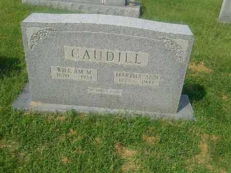 CAUDILL, MARTHA ANN - Rowan County, Kentucky | MARTHA ANN CAUDILL - Kentucky Gravestone Photos