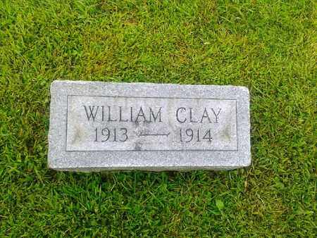 CLAY, WILLIAM - Rowan County, Kentucky   WILLIAM CLAY - Kentucky Gravestone Photos