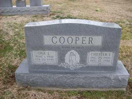 COOPER, CHESTER F - Rowan County, Kentucky | CHESTER F COOPER - Kentucky Gravestone Photos
