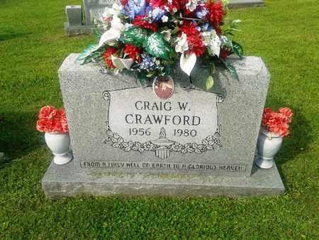 CRAWFORD, CRAIG W - Rowan County, Kentucky | CRAIG W CRAWFORD - Kentucky Gravestone Photos