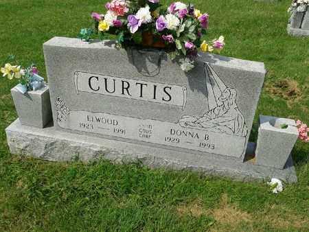 COLE CURTIS, DONNA BELLE - Rowan County, Kentucky | DONNA BELLE COLE CURTIS - Kentucky Gravestone Photos
