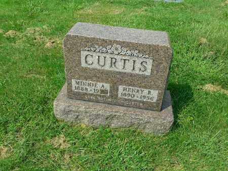 CURTIS, MINNIE A - Rowan County, Kentucky | MINNIE A CURTIS - Kentucky Gravestone Photos