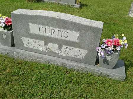 CURTIS, ORAL G - Rowan County, Kentucky | ORAL G CURTIS - Kentucky Gravestone Photos
