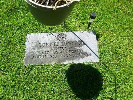 DAVIS JR. (VETERAN), LONNIE - Rowan County, Kentucky | LONNIE DAVIS JR. (VETERAN) - Kentucky Gravestone Photos