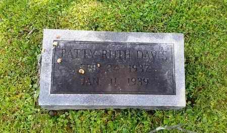 DAVIS, PATTY RUTH - Rowan County, Kentucky | PATTY RUTH DAVIS - Kentucky Gravestone Photos
