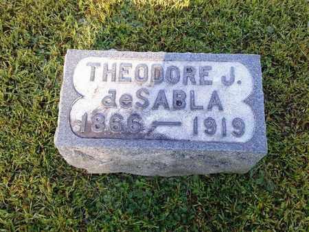DESABLA, THEODORE J - Rowan County, Kentucky   THEODORE J DESABLA - Kentucky Gravestone Photos