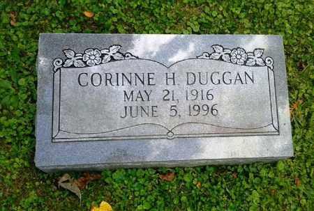 DUGGAR, CORINNE H - Rowan County, Kentucky | CORINNE H DUGGAR - Kentucky Gravestone Photos