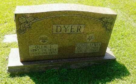 DYER, DOVIE - Rowan County, Kentucky | DOVIE DYER - Kentucky Gravestone Photos