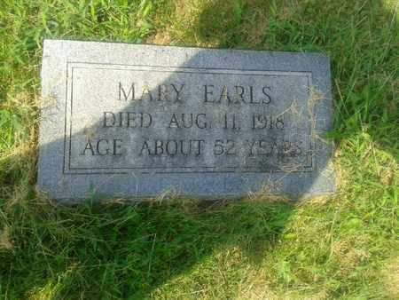 EARLS, MARY - Rowan County, Kentucky | MARY EARLS - Kentucky Gravestone Photos