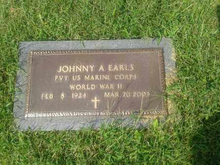 EARLS (VETERAN WWII), JOHNNY A - Rowan County, Kentucky | JOHNNY A EARLS (VETERAN WWII) - Kentucky Gravestone Photos