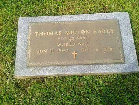 EARLY (VETERAN WWI), THOMAS MILTON - Rowan County, Kentucky | THOMAS MILTON EARLY (VETERAN WWI) - Kentucky Gravestone Photos