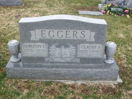 EGGERS, CLAUDE F - Rowan County, Kentucky   CLAUDE F EGGERS - Kentucky Gravestone Photos