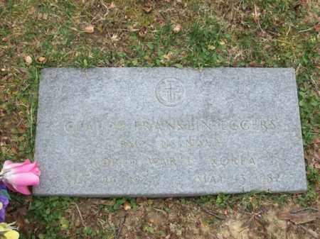 EGGERS (VETERAN WW2II KOR), CLAUDE FRANKLIN - Rowan County, Kentucky   CLAUDE FRANKLIN EGGERS (VETERAN WW2II KOR) - Kentucky Gravestone Photos