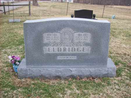 ELDRIDGE, BERTHA - Rowan County, Kentucky | BERTHA ELDRIDGE - Kentucky Gravestone Photos
