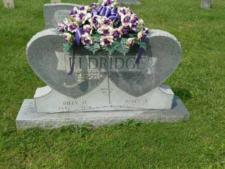 ELDRIDGE, BILLY D - Rowan County, Kentucky | BILLY D ELDRIDGE - Kentucky Gravestone Photos