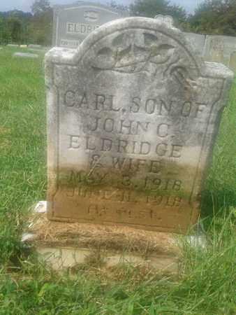 ELDRIDGE, CARL - Rowan County, Kentucky | CARL ELDRIDGE - Kentucky Gravestone Photos