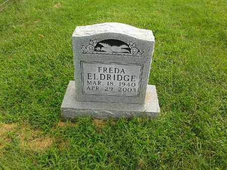 ELDRIDGE, FREDA - Rowan County, Kentucky | FREDA ELDRIDGE - Kentucky Gravestone Photos