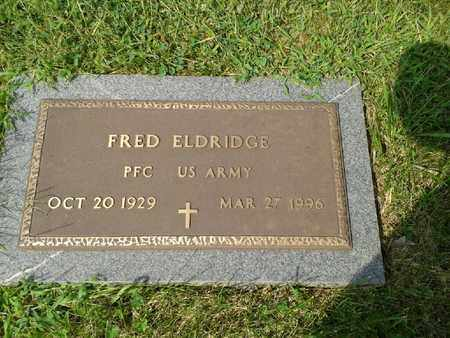 ELDRIDGE (VETERAN), FRED - Rowan County, Kentucky | FRED ELDRIDGE (VETERAN) - Kentucky Gravestone Photos
