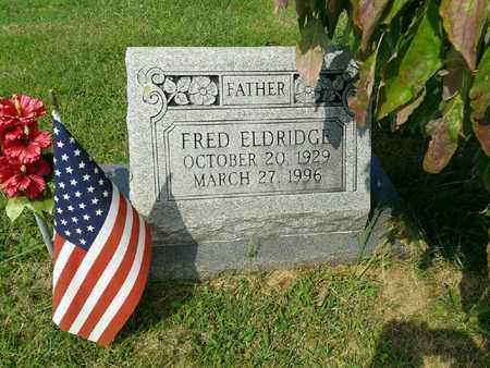 ELDRIDGE, FRED - Rowan County, Kentucky | FRED ELDRIDGE - Kentucky Gravestone Photos