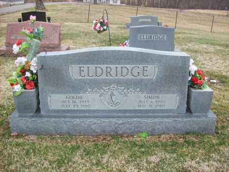 ELDRIDGE, SIMON - Rowan County, Kentucky | SIMON ELDRIDGE - Kentucky Gravestone Photos