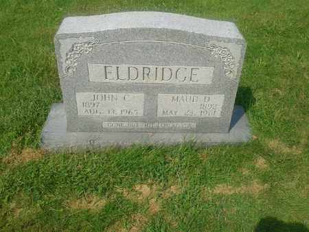 ELDRIDGE, JOHN C - Rowan County, Kentucky | JOHN C ELDRIDGE - Kentucky Gravestone Photos